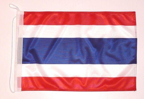 Bootsflagge Thailand 30 x 45 cm