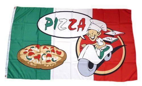Fahne / Flagge Pizza Pizzeria 90 x 150 cm