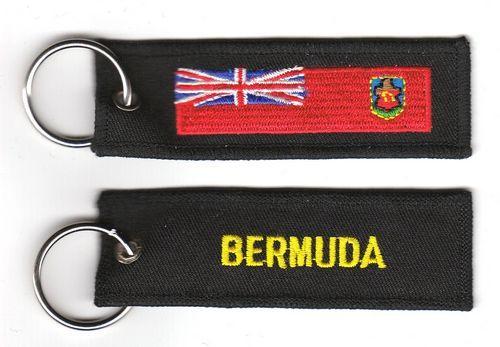 Fahnen Schlüsselanhänger Bermuda