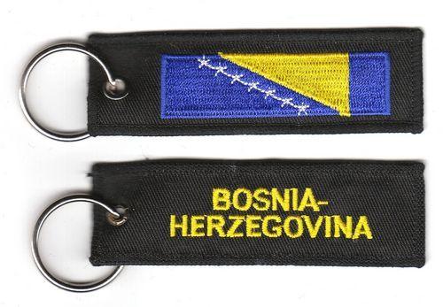 Fahnen Schlüsselanhänger Bosnien Herzegowina