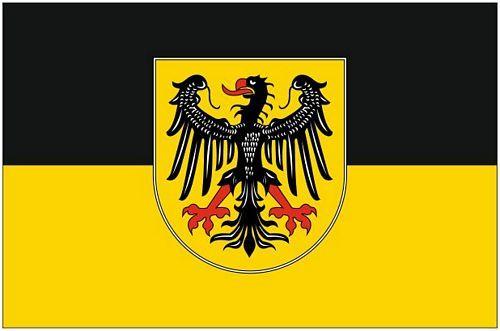 Fahnen Aufkleber Sticker Aachen