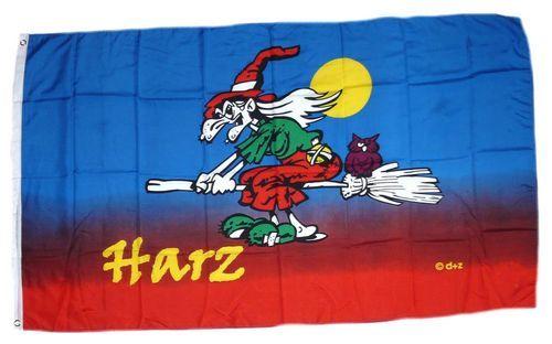 Fahne / Flagge Harzhexe 90 x 150 cm