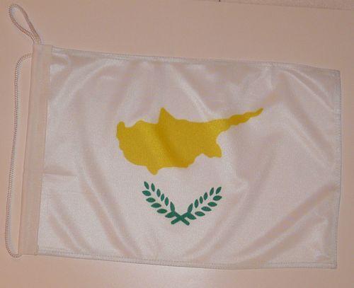 Bootsflagge Zypern 30 x 45 cm