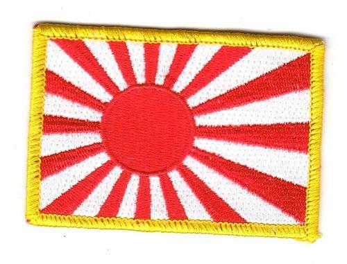 Fahnen Aufnäher Japan Marine