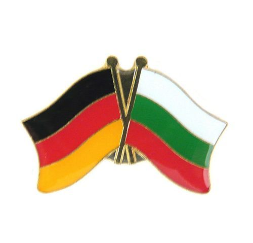 Fahnen Freundschaftspin Anstecker Bulgarien