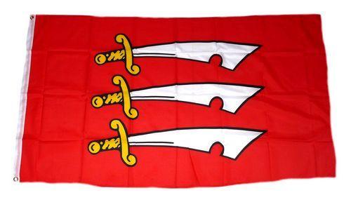 Fahne / Flagge England - Essex 90 x 150 cm