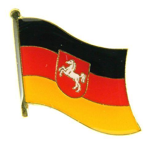 Flaggen Pin Fahne Niedersachsen NEU Anstecknadel Flagge