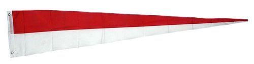 Langwimpel Schützenfest rot / weiß 30 x 150 cm