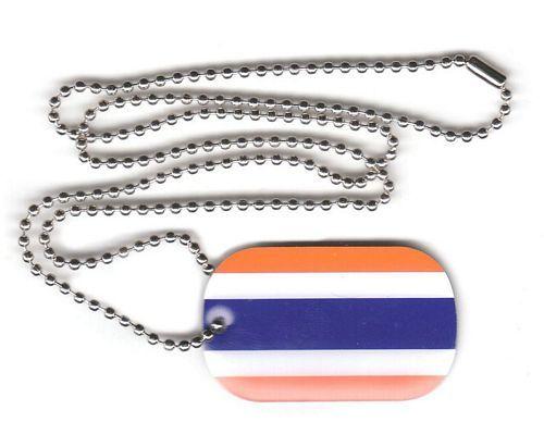 Dog Tag Fahne Thailand