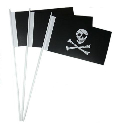 Papierfahnen Pirat Freibeuter