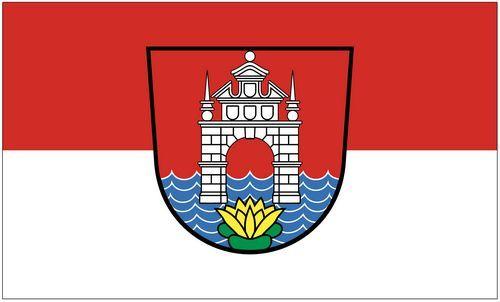 Fahne / Flagge Österreich - Velden Wörther See 90 x 150 cm