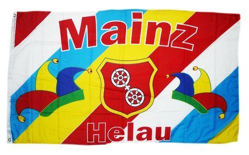 Fahne / Flagge Fastnacht Mainz Helau 90 x 150 cm
