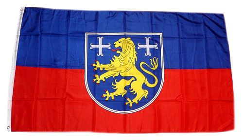 Flagge / Fahne Landkreis Friesland Hissflagge 90 x 150 cm