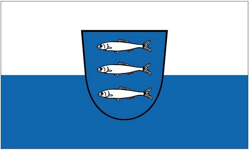 Fahne / Flagge Heringsdorf Usedom 90 x 150 cm