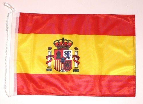 Bootsflagge Spanien 30 x 45 cm