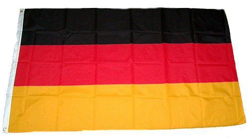 Flagge / Fahne Deutschland Hissflagge 90 x 150 cm