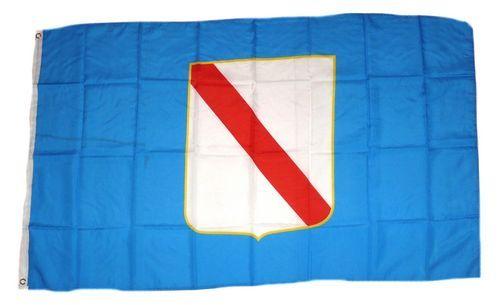 Fahne / Flagge Italien - Kampanien 90 x 150 cm