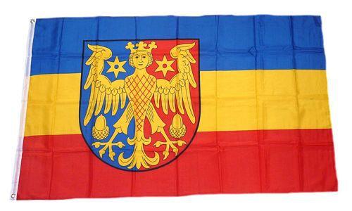 Flagge / Fahne Landkreis Aurich Hissflagge 90 x 150 cm