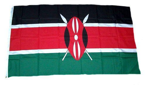 Flagge / Fahne Kenia Hissflagge 90 x 150 cm