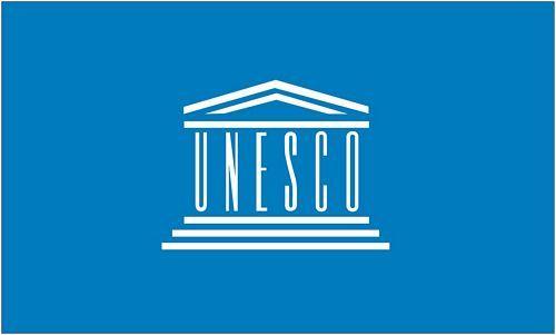 Fahne / Flagge UNESCO 90 x 150 cm