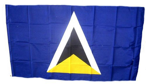 Flagge / Fahne St. Lucia Hissflagge 90 x 150 cm