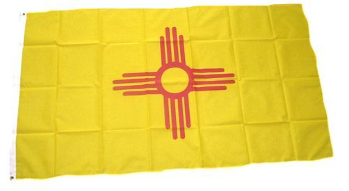 Fahne / Flagge USA - New Mexico 90 x 150 cm