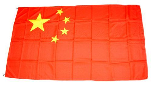 Flagge / Fahne China Hissflagge 90 x 150 cm