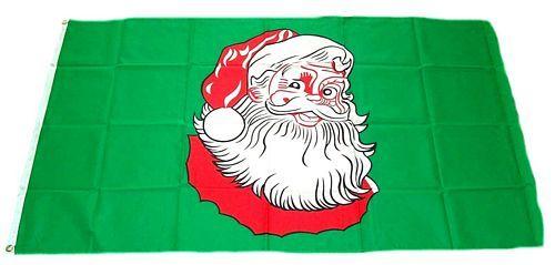 Fahne / Flagge Weihnachtsmann 90 x 150 cm