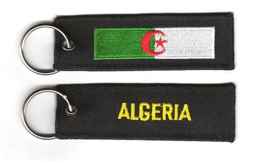 Fahnen Schlüsselanhänger Algerien