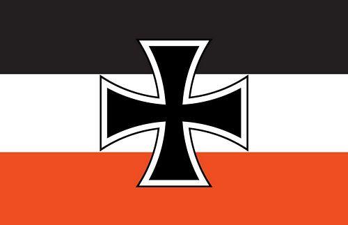 Autoaufkleber Sticker Gösch Eisernes Kreuz