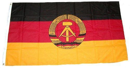 Fahne / Flagge DDR 150 x 250 cm