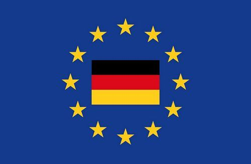 Fahnen Aufkleber Sticker Europa Deutschland