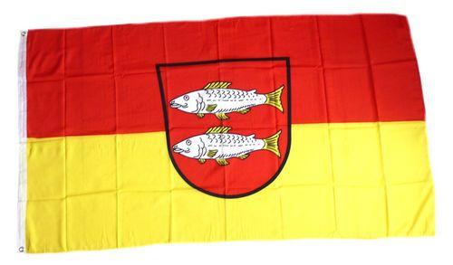 Flagge / Fahne Forchheim Hissflagge 90 x 150 cm