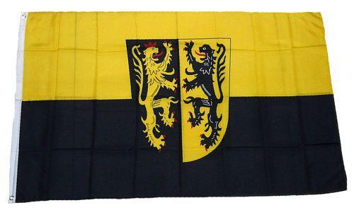 Flagge / Fahne Landkreis Mühldorf am Inn Hissflagge 90 x 150 cm