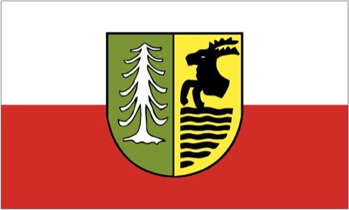Fahne / Flagge Oberhof 90 x 150 cm