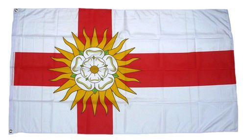 Fahne / Flagge England - West Riding of Yorkshire 90 x 150 cm