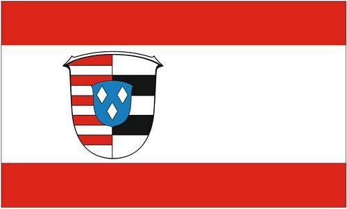 Fahne / Flagge Kreis Groß-Gerau 90 x 150 cm
