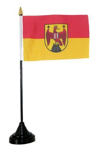 Tischfahne Österreich - Burgenland 11 x 16 cm Fahne Flagge
