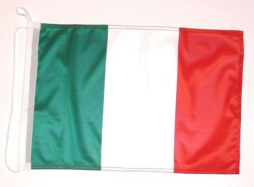 Bootsflagge Italien 30 x 45 cm