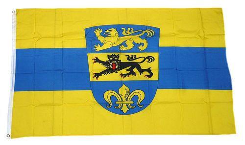 Flagge / Fahne Landkreis Dillingen Hissflagge 90 x 150 cm
