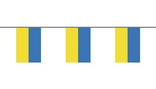 Flaggenkette Ukraine 6 m