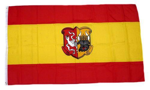 Flagge / Fahne Neustrelitz Hissflagge 90 x 150 cm