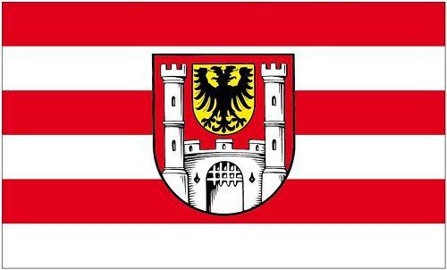 Fahne / Flagge Weißenburg in Bayern 90 x 150 cm