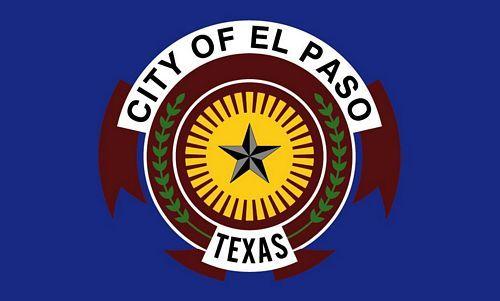Fahne / Flagge USA - El Paso 90 x 150 cm