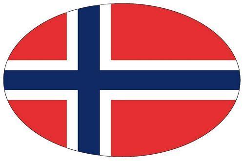 Wappen Aufkleber Sticker Norwegen