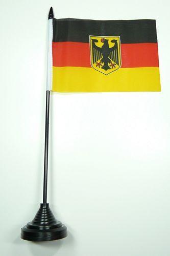 Fahne / Tischflagge Deutschland Adler NEU 11 x 16 cm