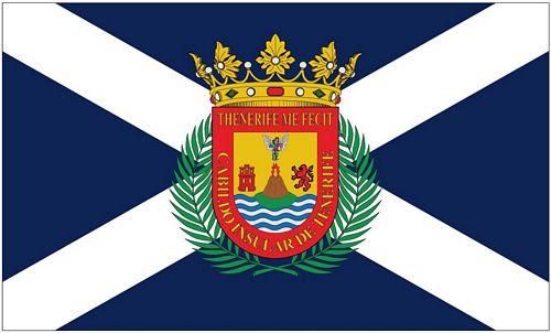 fahne flagge spanien teneriffa spanien europa. Black Bedroom Furniture Sets. Home Design Ideas