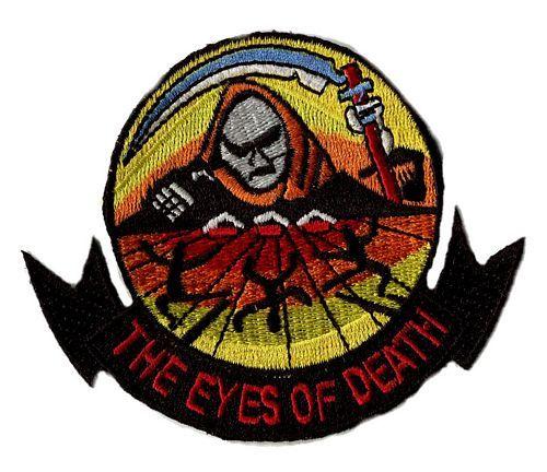 Aufnäher Patch Sensenmann Eyes of Death