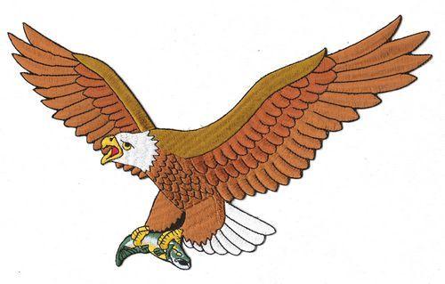 Aufnäher Patch Adler / Eagle 2