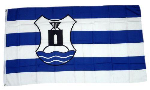 Flagge / Fahne Norderney Wappen Hissflagge 90 x 150 cm